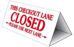 checkout-lane-closed-sign